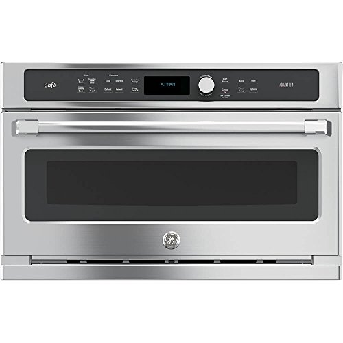 GE CSB9120SJSS Cafe Advantium 30″ Stainless Steel Electric Single Wall Oven – Convection