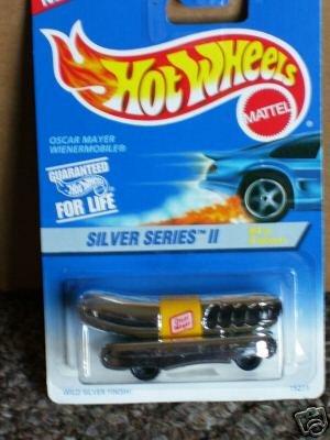 Mattel Hot Wheels 1996 1:64 Scale Silver Series II Chrome Oscar Mayer Wienermobile Die Cast Car 4/4 ()