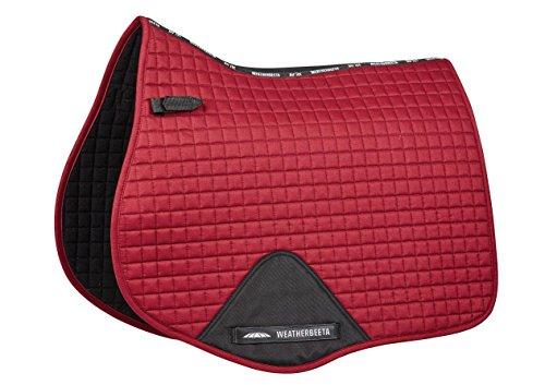 Weatherbeeta Prime All Purpose Saddle Pad Maroon Full (Red Saddle Pad)
