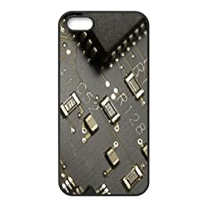 For Iphone 6 Phone Case Cover Circuit Board With Chip Hard Shell Back Black For Iphone 6 Phone Case Cover 317209
