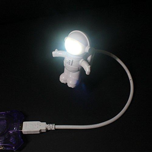 [해외]Soondar 핫 세일 브랜드 새로운 크리 에이 티브 우주인 우주 비행사는 노트북 PC 노트북을위한 유연한 USB 라이트를 LED/Soondar Hot Sale Brand New Creative Spaceman Astronaut LED Flexible USB Light for Laptop PC Notebook