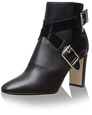 JIMMY CHOO Women's Dee Ankle Boot, Black, 36 M EU/6 M US
