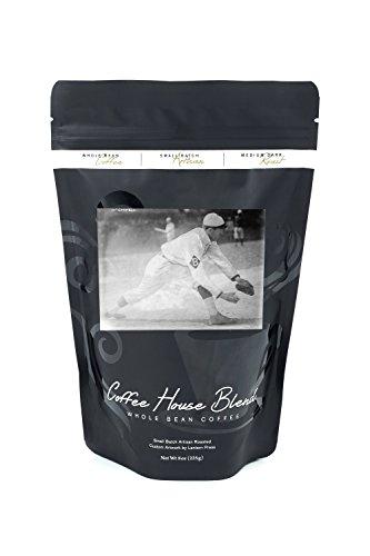 George McConnell, Baseball Photograph (8oz Whole Bean Small Batch Artisan Coffee - Bold & Strong Medium Dark Roast w/ Artwork) -