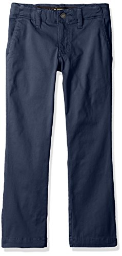 China Blue Apparel (Lee Little Boys' Sport X-Treme Comfort Chino Pant, Dark Navy, 7 Slim)