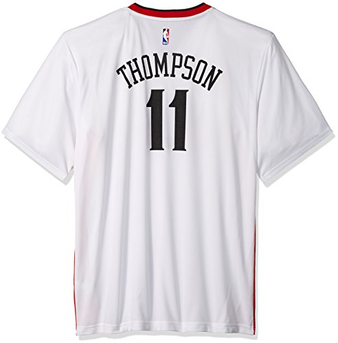 NBA Men's Golden State Warriors Klay Thompson Replica Player Stretch Jersey, Large, White (White Authentic Adidas Nba Jersey)