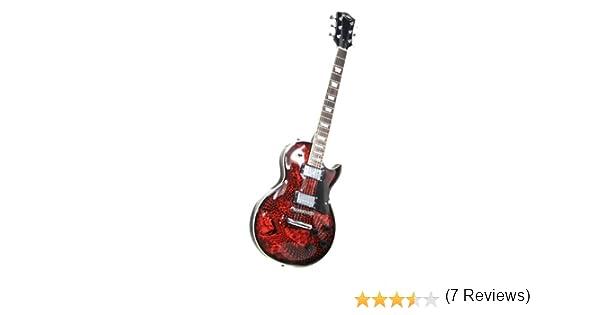 Jaxville LP2-SNK - Guitarra eléctrica: Amazon.es: Instrumentos ...