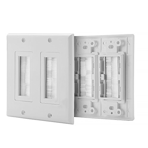 Cable Outlet Cover Plate: Amazon.com
