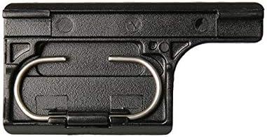 Liuzheng Waterproof For Gopro HERO4 Sports Action Camera Waterproof Housing Case ABS Plastic Back Door Clip Lock Catch Black