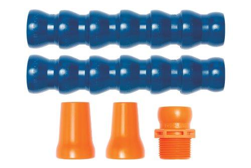 Loc-Line Coolant Hose Starter Kit, Acetal Copolymer, 5 Piece, 3/4