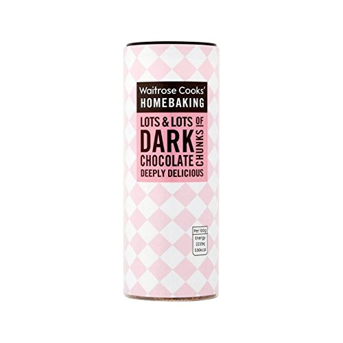 Cooks' Ingredients Dark Chocolate Chunks Waitrose 100g - Pack of 6 by Cooks' Ingredients
