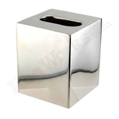 - Steeltek Basic Series Stainless Steel Boutique Tissue Box