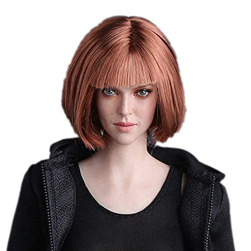 HiPlay 1/6 Scale Female Figure Head Sculpt, Beuty Charming Girl Doll Head for 12
