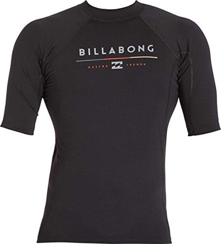 빌라봉 Billabong Mens All Day Regular Fit Short Sleeve Rashguard