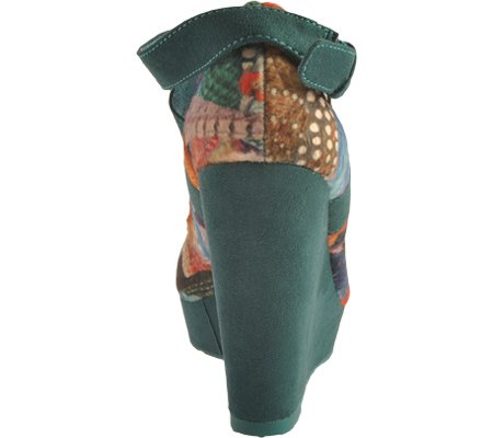 Colored Women's Turquoise Multi Turquoise Multi Kiwi Desigual Boots wqdxOAp6qI