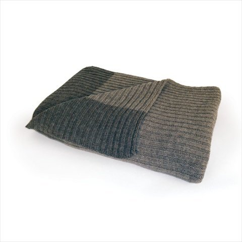 Deco Home Ribbed Sweater Throw
