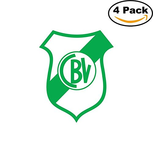 fan products of Club Bella Vista de Bahia Blanca Argentina Soccer Football Club FC 4 Stickers Car Bumper Window Sticker Decal 4X4