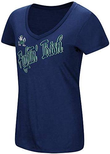 "TCU Horned Frogs Women/'s NCAA /""Big Sweet/'/"" Dual Blend V-neck T-Shirt"
