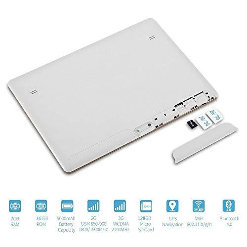 DishyKooker – Tablet (pantalla de 10,1 pulgadas, 2560 x 1600, IPS HD, 8000 mAh, 3G, GPS, Bluetooth, tablets, accesorios…