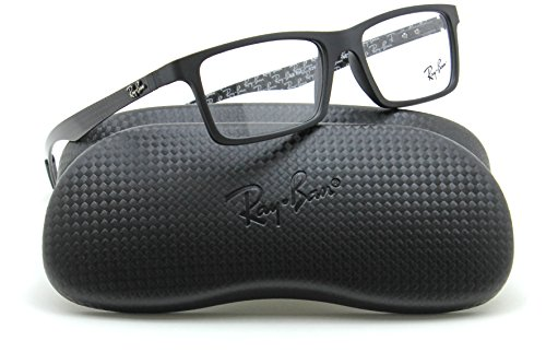 Ray-Ban RX8901 Rectangular Carbon Fiber Prescription Glasses 5263 - - Ban Glasses Ray Carbon Fiber