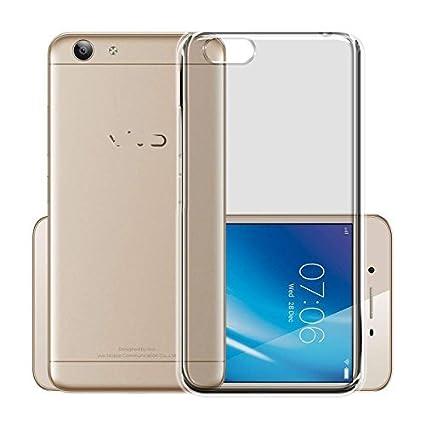 buy popular 3cbdd d1028 Ifra Transparent Soft Silicon Back Cover For-Vivo 1606