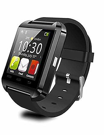 U9 Wearables reloj inteligente, bluetooth4.0/manos libres llamadas/control de mensajes/control de la cámara/actividad tracker/Sleep: Amazon.es: Electrónica