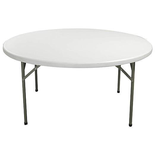 Mesa plegable de plástico Inicio Mesa de comedor grande Mesa ...