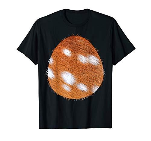 Halloween Deer Costume Belly Shirt