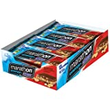Snickers Marathon Energy Bar Chewy Chocolate Peanut 12 Bars
