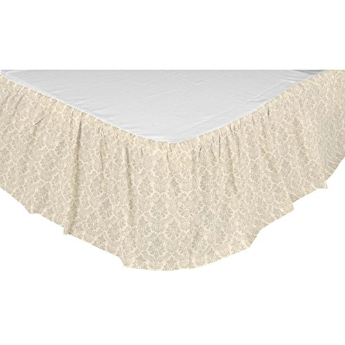 (VHC Brands Boho & Eclectic Farmhouse Ava White Bed Skirt King)