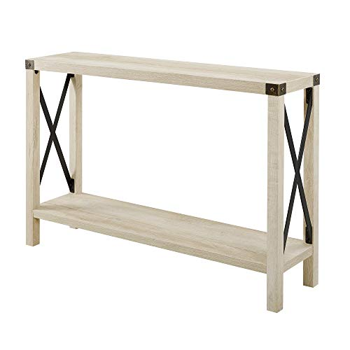 WE Furniture AZF46MXETWO Entryway Table, 46