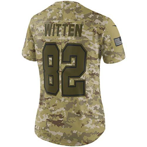 Intuit Fast Mens Jason_Witten_82_Camo_Salute Fans Replica Jersey Sportswear Custom Football Game Limited Elite Legend Jerseys ()