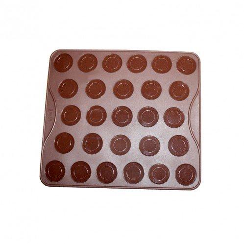 Basic Macarons Circle Silicone Mat Cookie Mold
