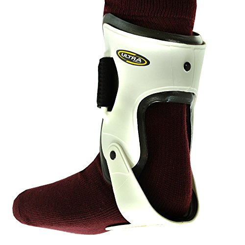 Mcdavid Ultra Ankle Brace - Mcdavid Classic Logo 188 Ultra Hinged Ankle Support White Medium