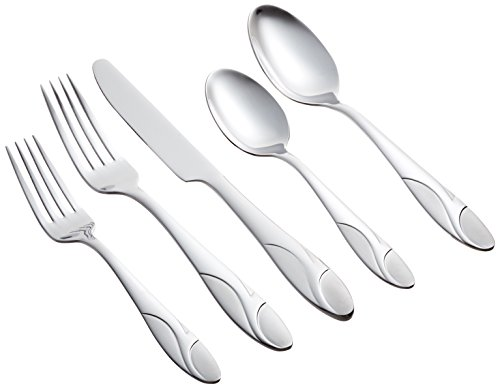 Farberware Licorice Sand 20-Piece Flatware Set, Service for 4