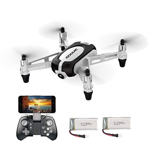 GoolRC T700 Mini Drone RC WiFi FPV 3D Flips Cámara 720P HD Camara Selfie Drone Quadcopter Altitude Hold G-Sensor 2 Baterías para Principiantes Niños a buen precio