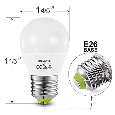4 Pack 12V-24V AC/DC LED Edison G14 Bulbs 3W E26 Light Bulbs Low Voltage Edison AC DC Screw in Light Bulbs for Off Grid Solar Lighting Marine Boat RV 12V Interior Lighting 3000K Warm White for Camper