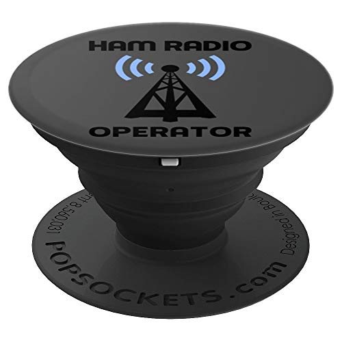 Radio Amateur Ham Radio Operator Art | Administrator Gift - PopSockets Grip and Stand for Phones and Tablets