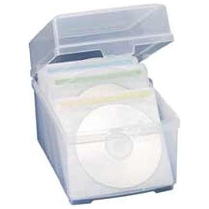 Compucessory CCS22292 CD/DVD Storage Box  sc 1 st  Amazon.com & Amazon.com: Compucessory CCS22292 CD/DVD Storage Box: Home Improvement