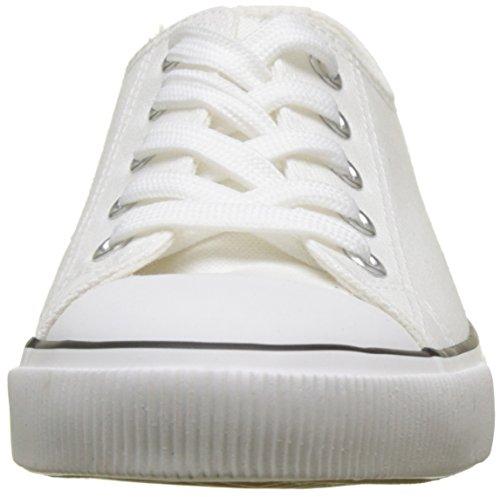 Blanc Bout À Fermé Look blanc Talons Marqué 10 Femmes Nouveaux wqA0R116
