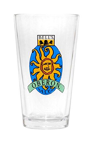 Bells Brewing Oberon Ale 16 oz Beer Pint - Oberon Glass