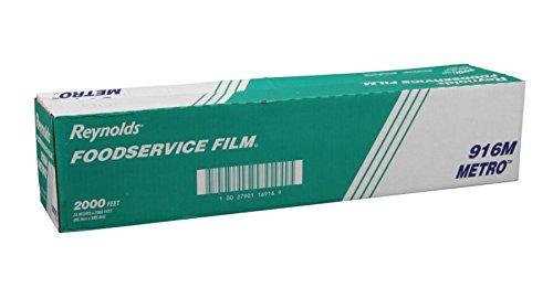 (Reynolds Wrap 916M Metro Light-Duty PVC Film Roll w/Cutter Box, 24
