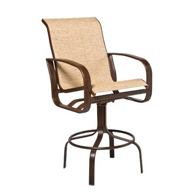 Prime Amazon Com Cayman Isle Sling Swivel Barstool Finish Caraccident5 Cool Chair Designs And Ideas Caraccident5Info