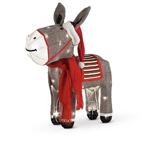 Outdoor Lighted Donkey in US - 1