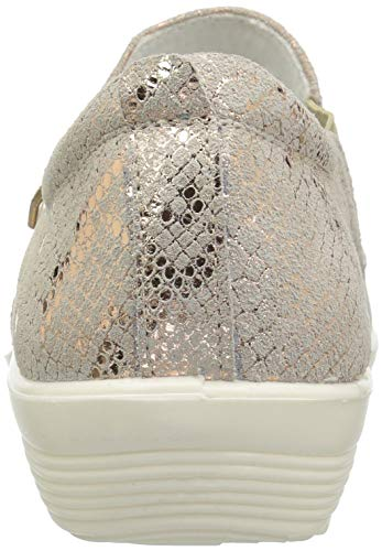by Women's Mandie Step Spring Python Gold Sneaker Flexus PdUq7w7