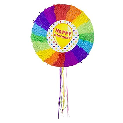 Amazon.com: Folat 60924 Pinata - Globos de cumpleaños: Toys ...