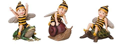 Bumble Bee Fairy Figurines 4