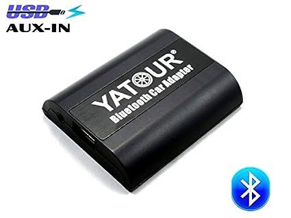 Amazon com: Yatour Bluetooth Car Adapter for Peugeot Citroen Rd4 Rt3