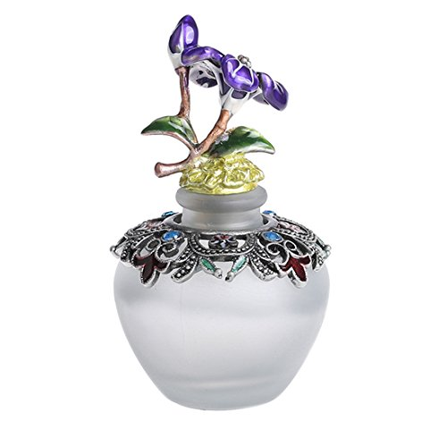 YUFENG Vintage Perfume Bottles Empty Refillable Butterfly Pattern Restoring Ancient (Ancient Perfume Bottles)