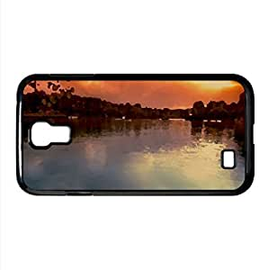 Calm Lake Watercolor style Cover Samsung Galaxy S4 I9500 Case (Italy Watercolor style Cover Samsung Galaxy S4 I9500 Case)