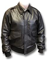 A2 USAAF Leather Flying Jacket with side pockets